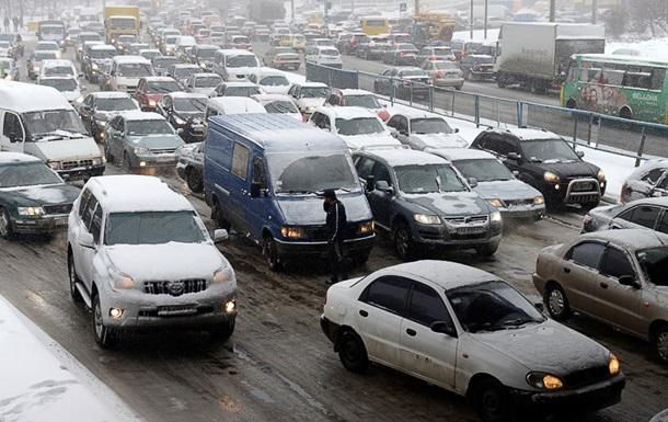 В шести областях ограничили движение из-за погоды