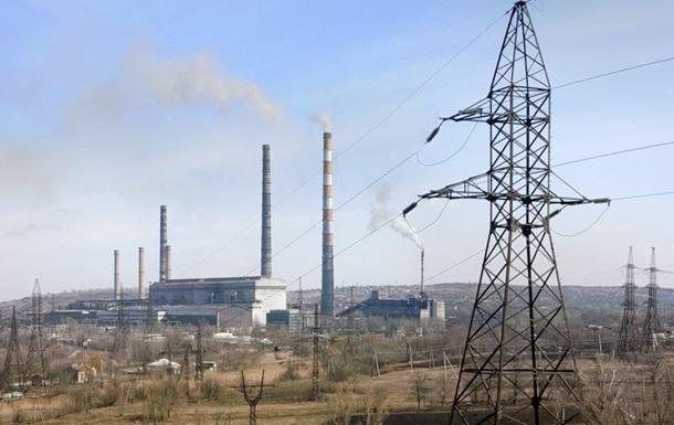 Слов янська ТЕС перейшла на аварійний режим через блокаду