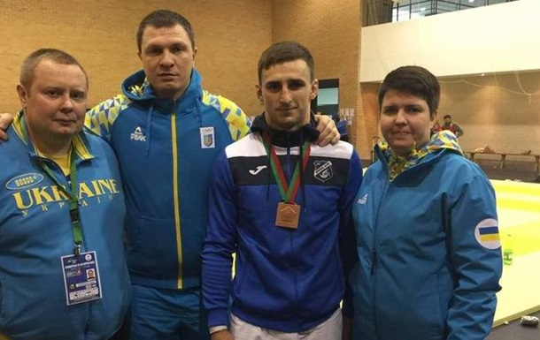 Український дзюдоїст завоював бронзу на Кубку Європи