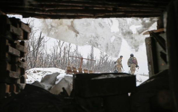 Доба в АТО: один військовий поранений