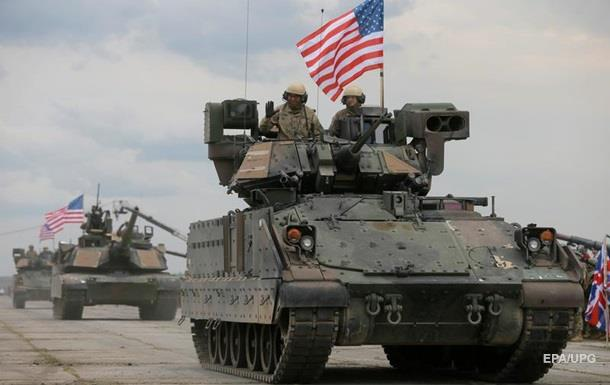 В Естонію прибула важка бойова техніка США