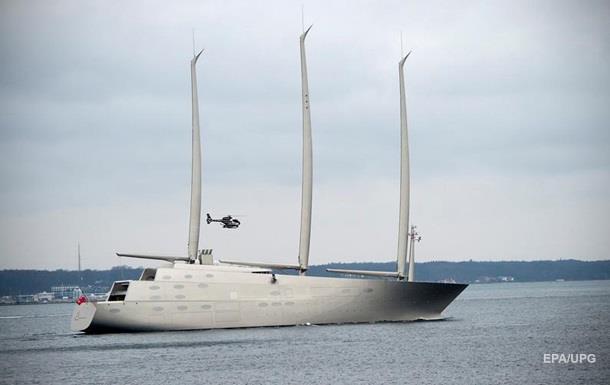 В Германии построили супер-яхту для миллиардера из РФ