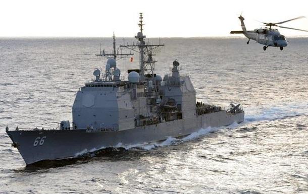 Американський ракетний крейсер прибув до Литви