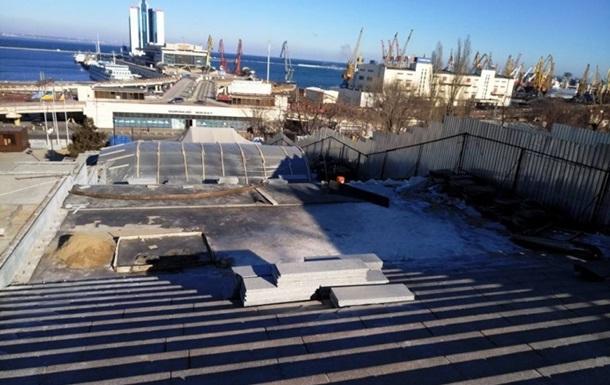 В Раде осудили провокации вокруг ремонта Потемкинской лестницы