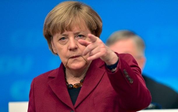 Меркель: Північний потік-2 зашкодить Україні