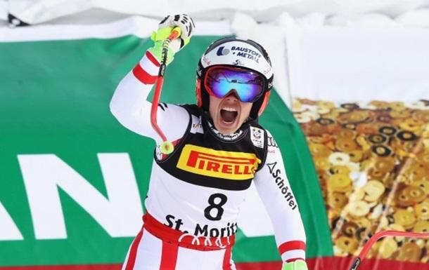 Гірські лижі: Шмідхофер - чемпіонка світу в супергіганті