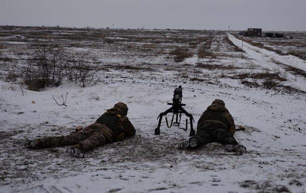 За добу в зоні АТО поранили шістьох військових