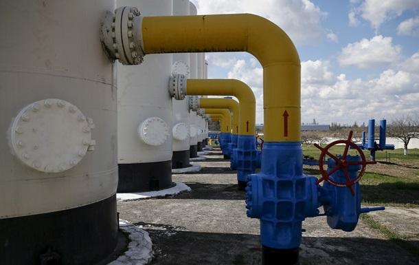 Експортний газ Газпрому за рік здешевів на третину