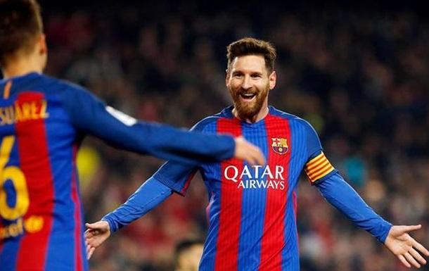 Футболки з прізвищем Мессі на спині стали найбільш продаваними в 2016 році