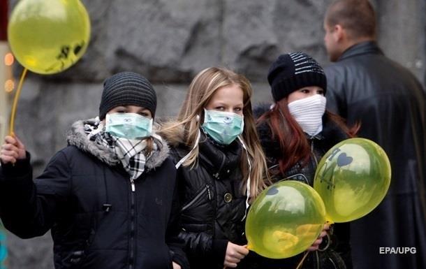 Грип в Україні: за тиждень захворіли 180 тисяч осіб