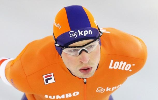 ЧМ по конькобежному спорту: Первый день стал голландским
