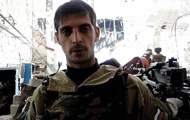 Боец из отряда Гиви взял ответственность за убийство - СМИ
