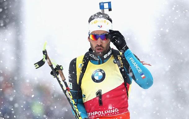 Фуркад залишив п єдестал під час нагородження російських біатлоністів