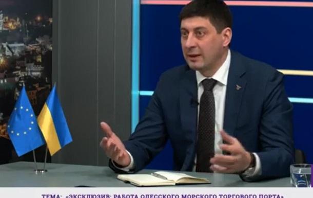 Игорь Ткачук рассказал о парадоксе, который мешает развитию Одесского порта