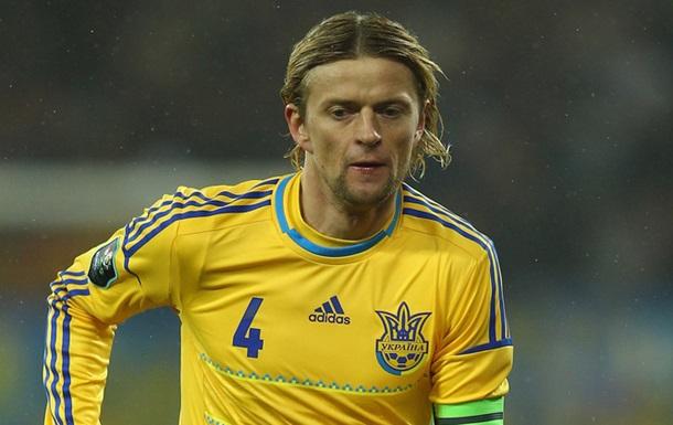 Тимощук объявил о завершении карьеры футболиста