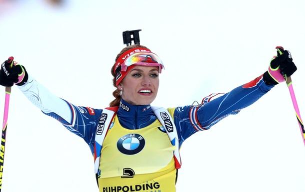 Біатлон: Коукалова стала чемпіонкою світу в спринті, Меркушина - у топ-10