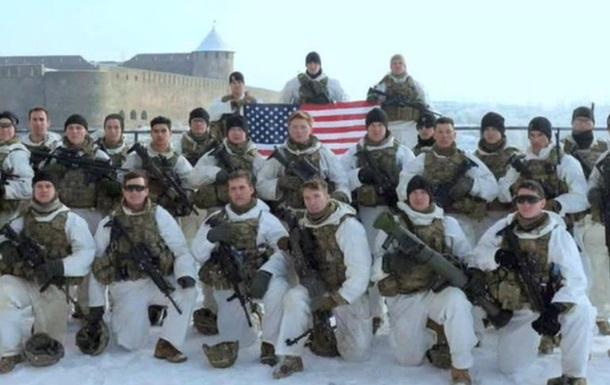 Військові США розгорнули свій прапор на кордоні з Росією