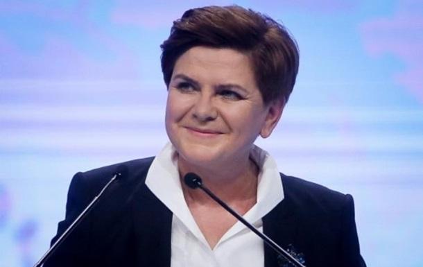 Прем єр Польщі потрапила в лікарню після ДТП