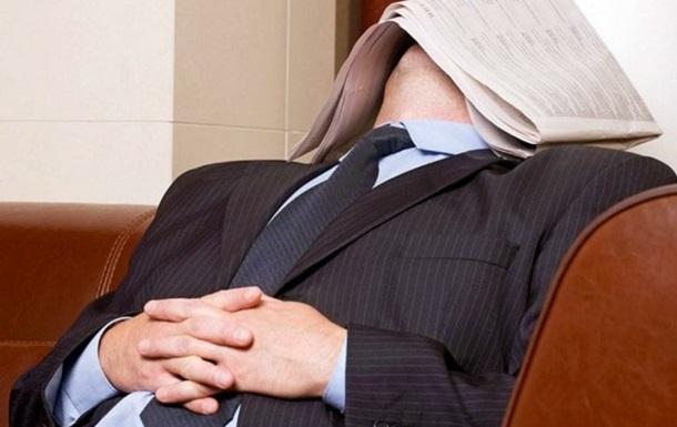 В Китае чиновники уснули на совещании по борьбе с ленью