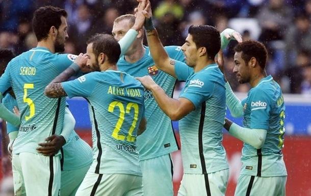 Прімера: Барселона розгромила Алавес