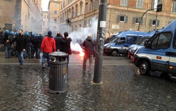 У Генуї антифашисти побилися з поліцією