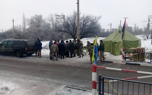 Блокада Донбасу: блокується дорога біля Торецька