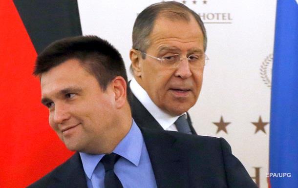 Лавров: Не збираюся апелювати до совісті Клімкіна