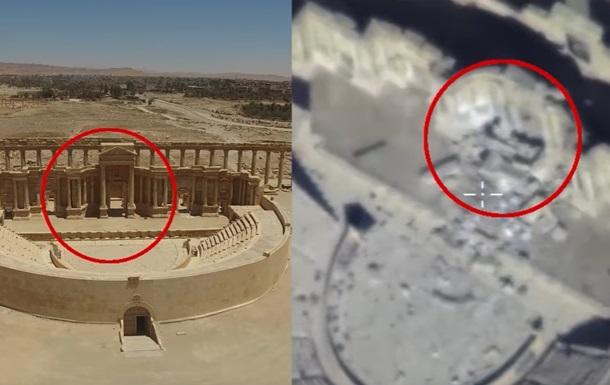 Росія показала зруйновані пам ятники Пальміри