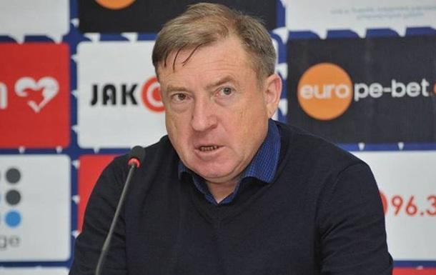 Грозний залишив посаду наставника Динамо Тбілісі