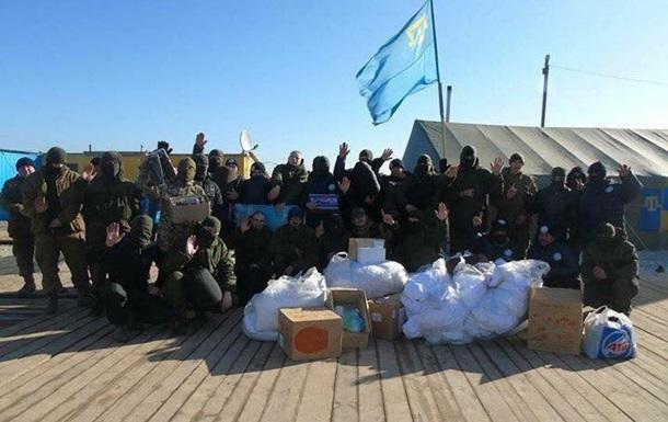 Люди зі зброєю на кордоні. Конфлікт ЗСУ з татарами
