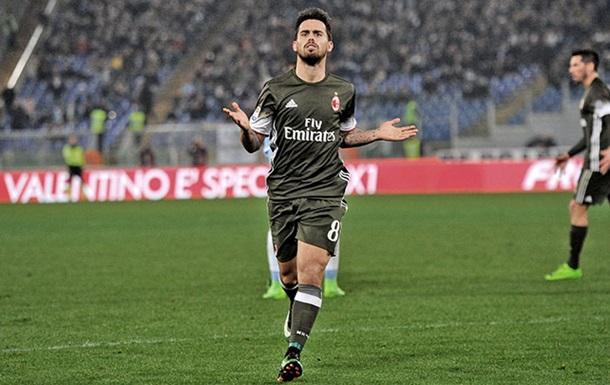 Серія А: Сусо врятував Мілан в поєдинку проти Лаціо