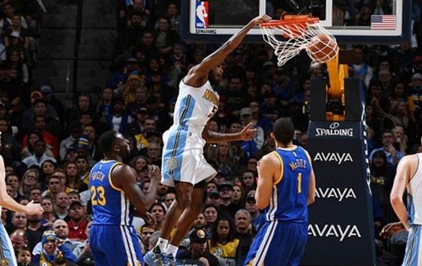 НБА: Голден Стейт програв в Денвері, перемога Вашингтона над Тандер