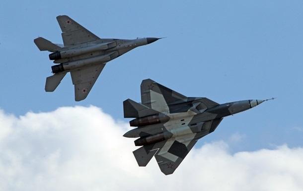 Росія покликала Індію для розробки винищувача п ятого покоління