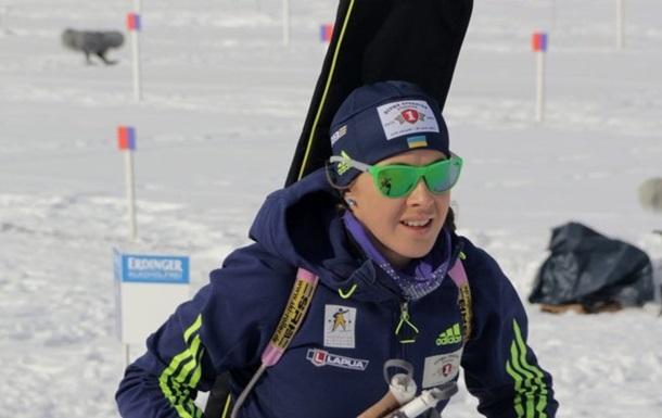 Біатлон: Варвинець першою з українок побіжить в індивідуальній гонці