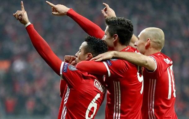 Баварія - Арсенал 5:1 Відео голів та огляд матчу Ліги чемпіонів