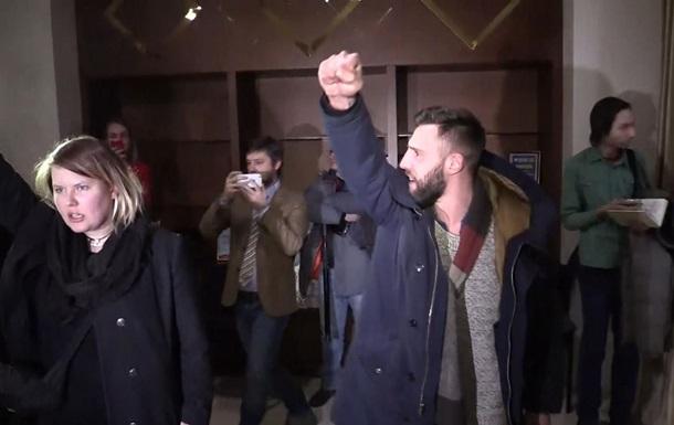 У Мінську затримали одного з учасників зриву брифінгу ОБСЄ