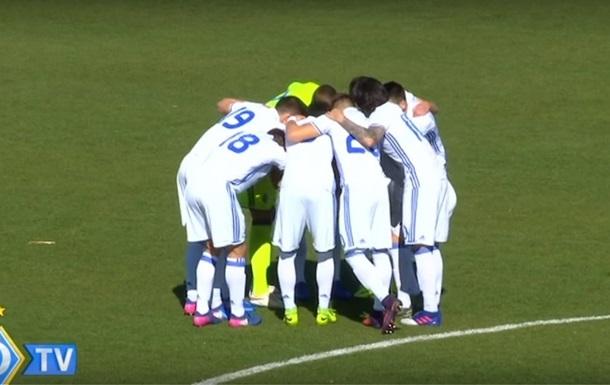 8:0. Гравці Динамо U-19 розгромили данців