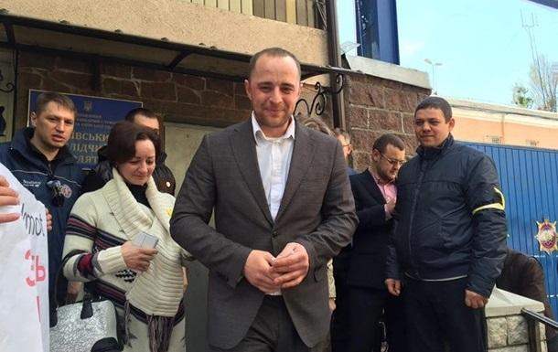 Суд відпустив мера Вишгорода