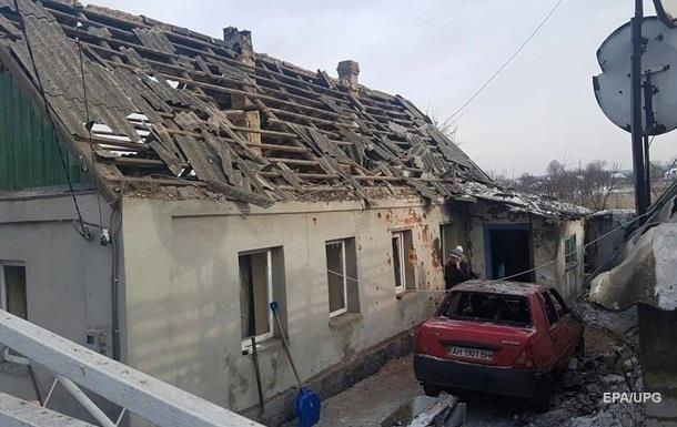 На Донбасі за два тижні зруйновано понад 300 будинків