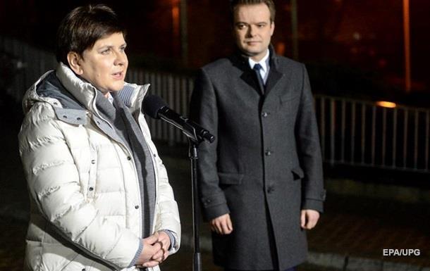 Прем єра Польщі виписали з лікарні після ДТП