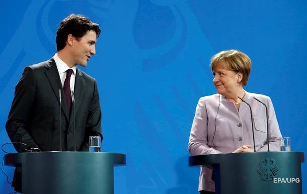 Меркель і Трюдо обговорили потужну підтримку України