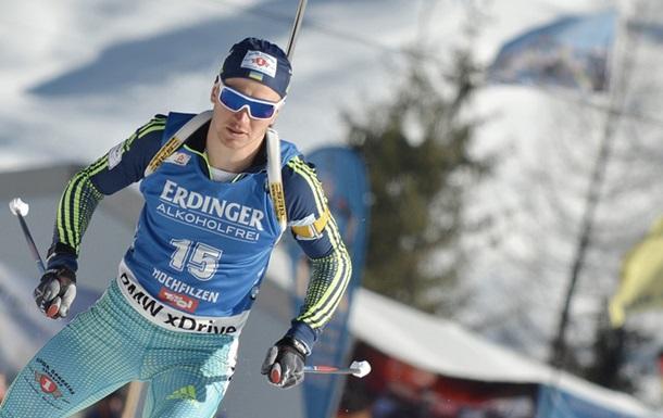 Биатлон. Украина заняла шестое место в мужской эстафете