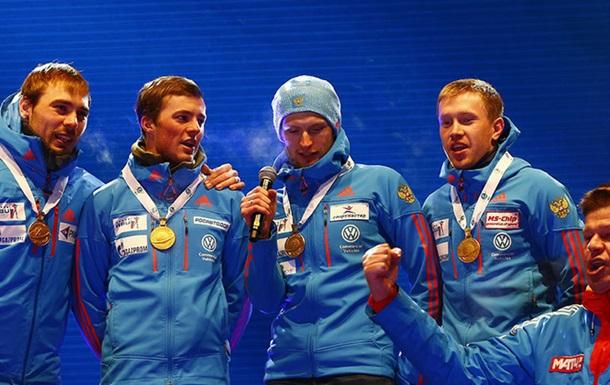 Організатори ЧС з біатлону переплутали гімн Росії