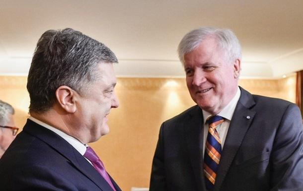 Порошенко провів зустріч з прем єр-міністром Баварії