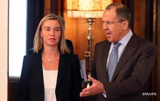 Лавров і Могеріні обговорили ситуацію на Донбасі