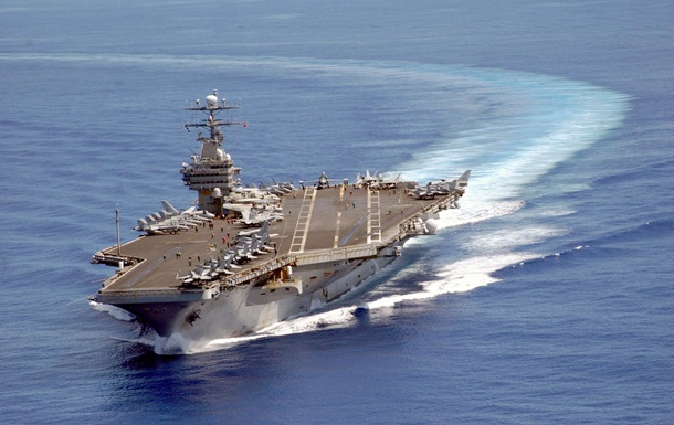 США перекинули авіаносну ударну групу до берегів Китаю