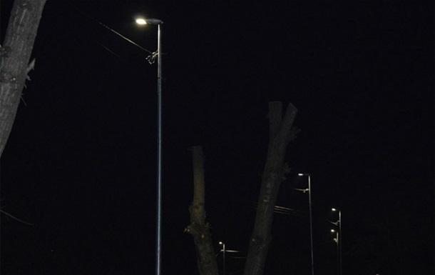 В Україні з явилося місто з  розумним  освітленням вулиць