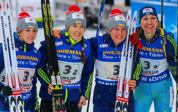Україна - сьома в медальному заліку чемпіонату світу з біатлону