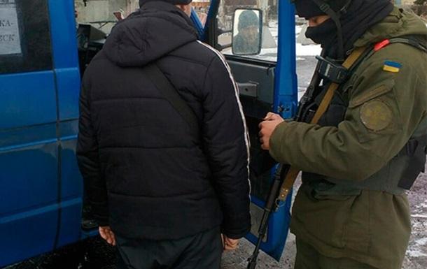 Нацгвардійці затримали під Авдіївкою сепаратиста ДНР