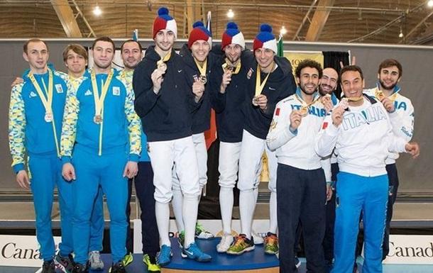 Українські шпажисти виграли срібло на етапі Кубка світу